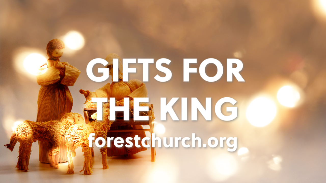 Sermon – Gifts for the King