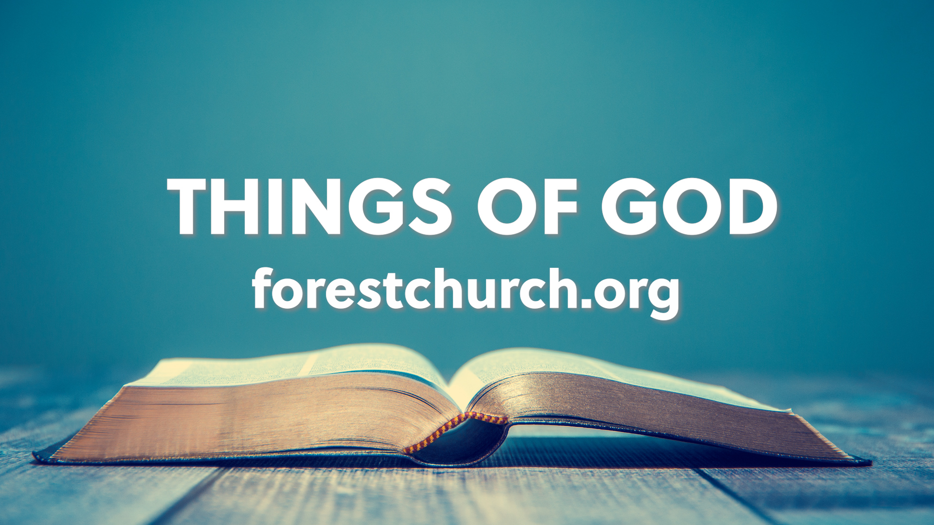 Things of God